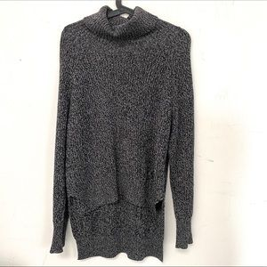 Wilfred Free Black and White Knit Turtleneck